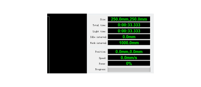 perhitungan jarak cutting